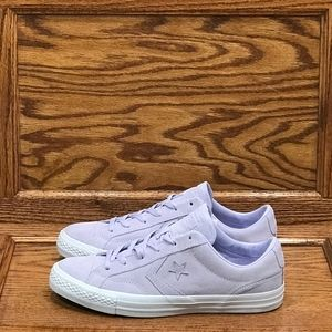 Converse Star Player Ox Purple White Shoes